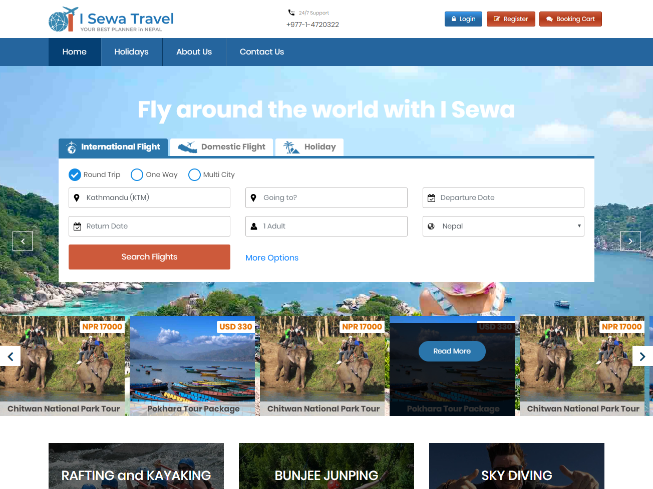 I-Sewa-Travel Sasto-Online-Air-Ticketing-Service-in-Nepal