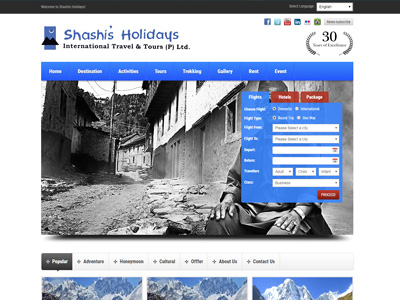 Shashis Holidays Pvt. Ltd.